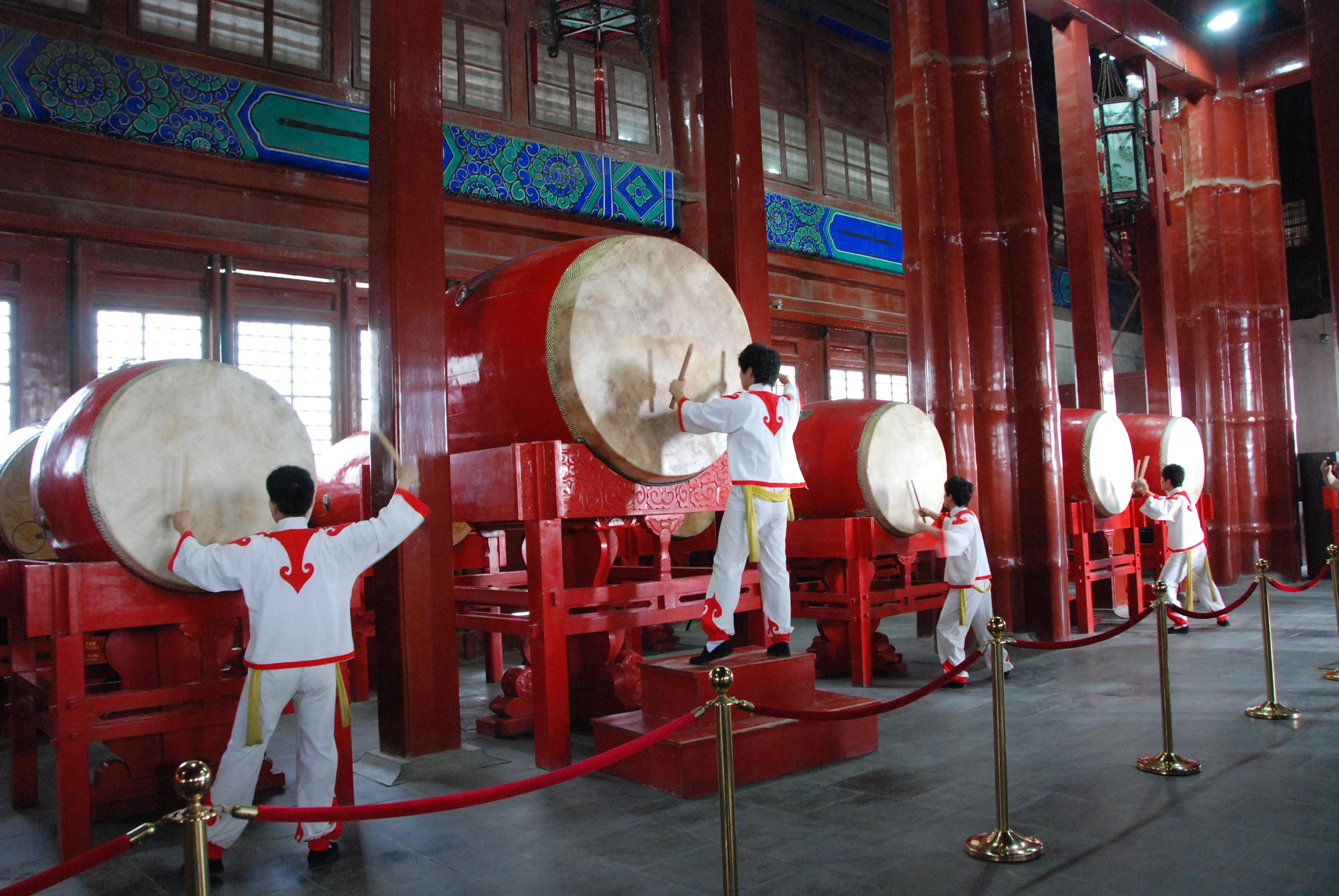 Muziek in de trommeltoren