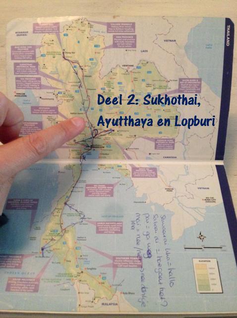Een route door Thailand, Sukhothai en Ayutthaya