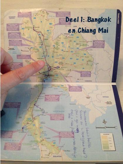 Een route door Thailand, Bangkok en Chiang Mai