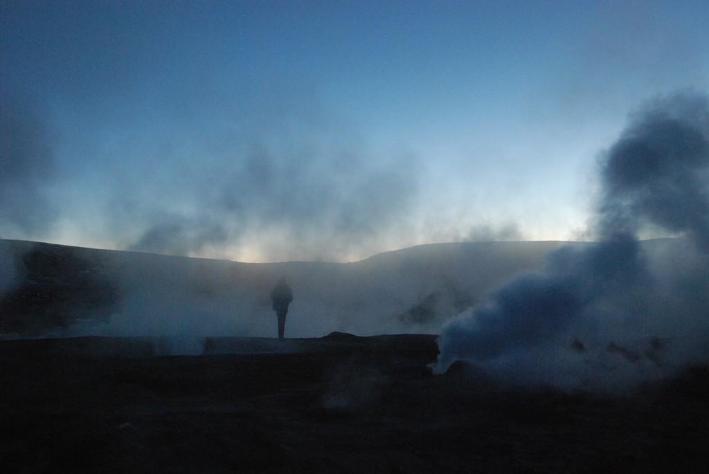 Mijn hoogste punt ever: geisers in Bolivia op 5000 m hoogte. Pfieuw!