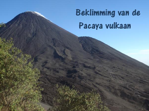 Beklimming van de Pacaya vulkaan