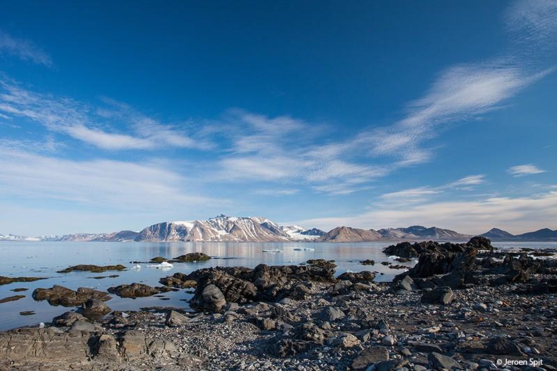 In de reizigerslounge: Jeroen over Spitsbergen