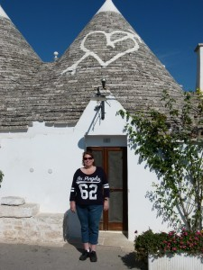 Nancy in Alberobello