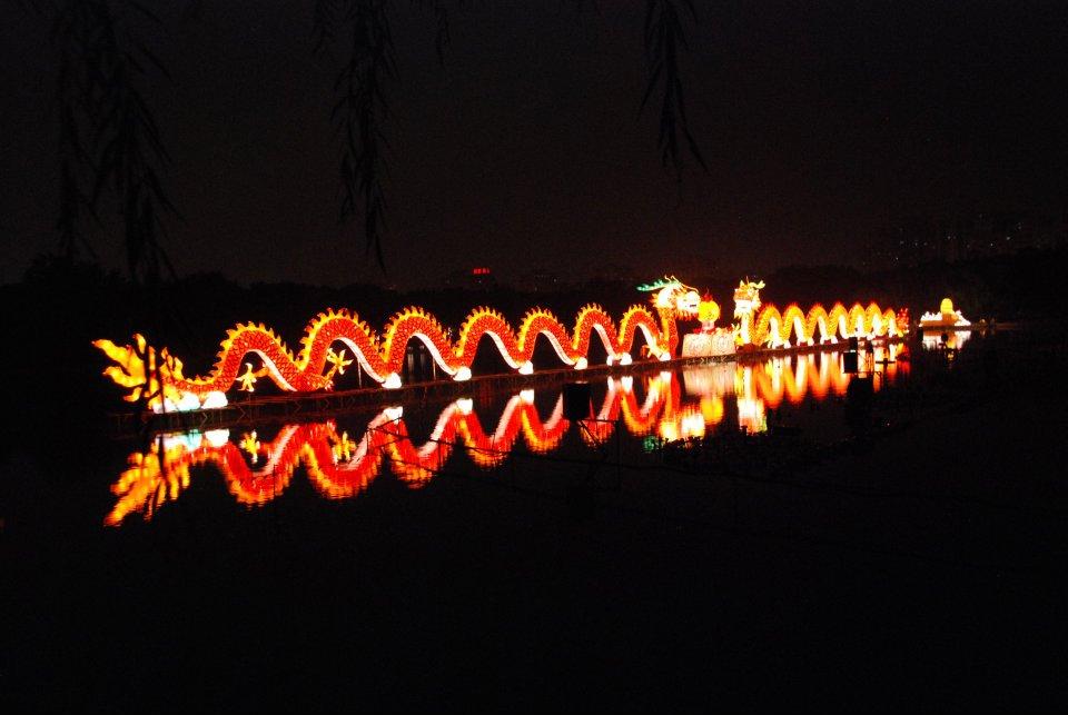 Het Chinees Festival van het licht