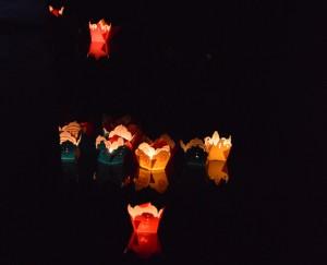 Gelukslantaarns in Hoi An, Vietnam.