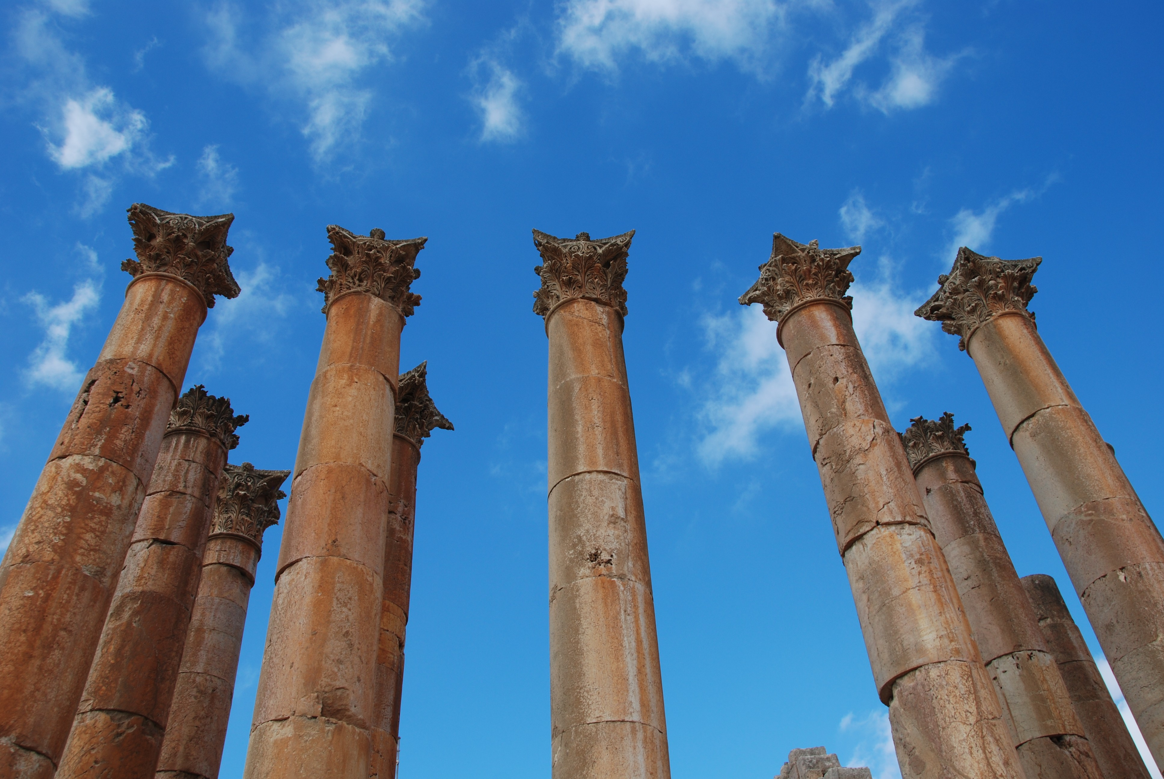 Terug in de tijd naar Jerash