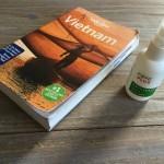 Tip met anti-insecten spray