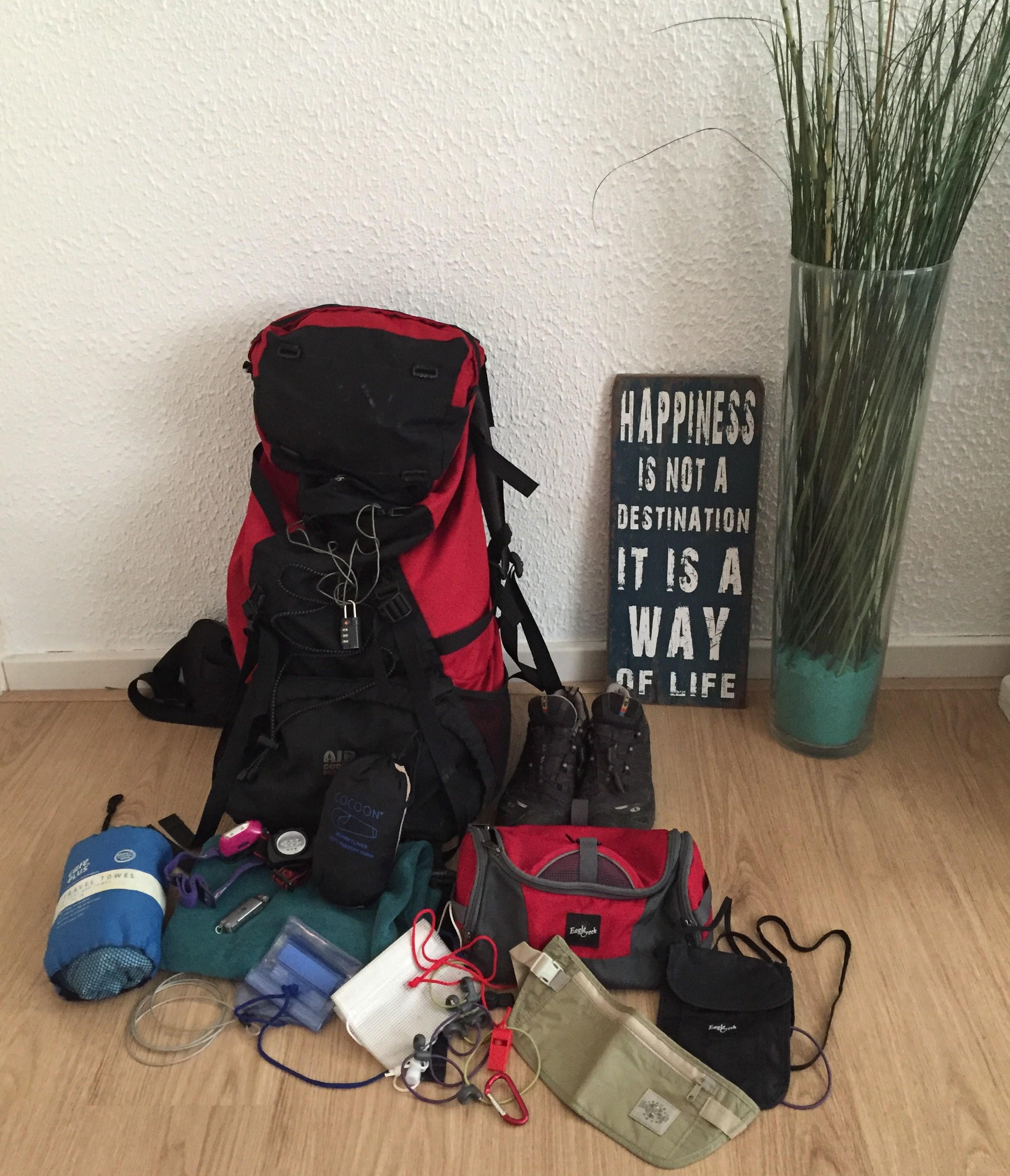 Reisinventaris balansen