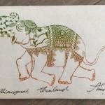 Stap van de olifant af !