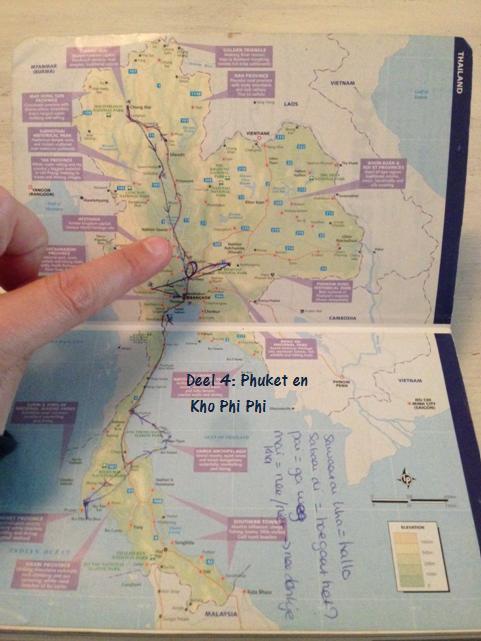 Een route door Thailand, Phuket en Koh Phi Phi