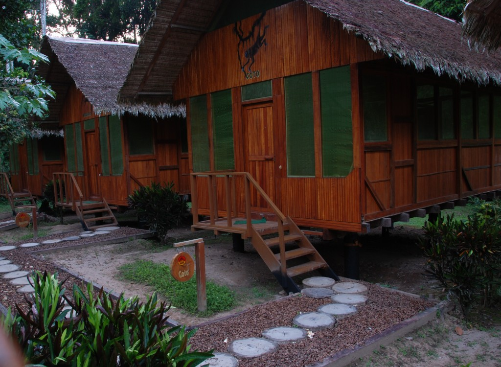 Eco lodges in de Amazone
