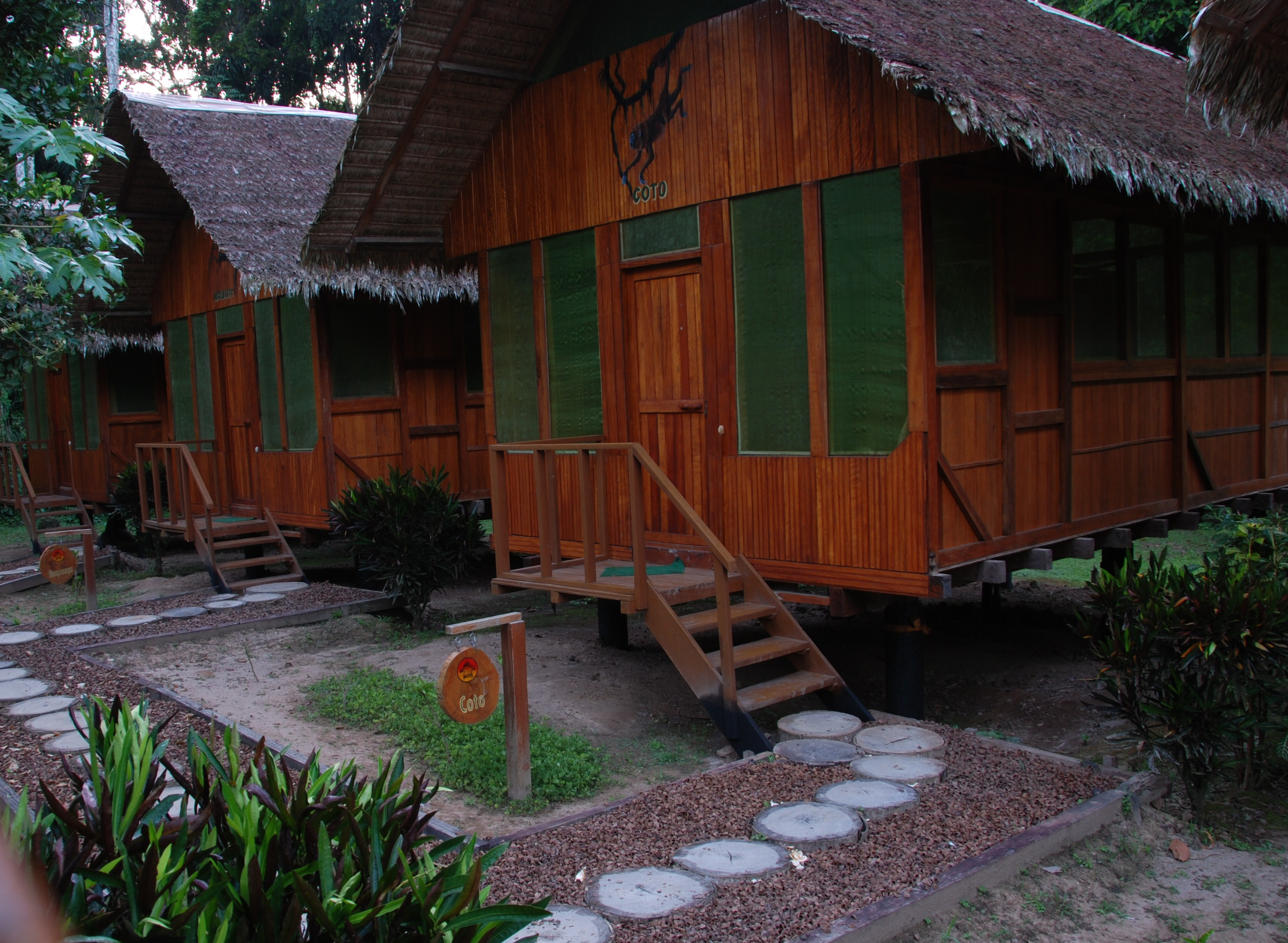 eco lodge amazone