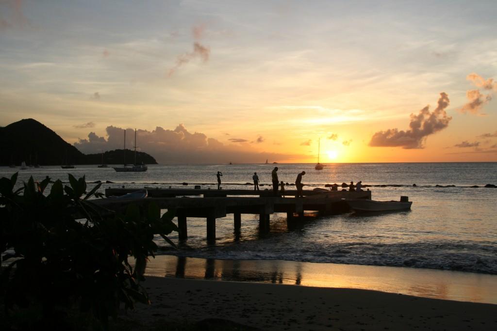 St. Lucia sunset 1