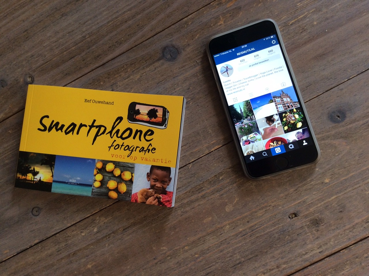 fotografie smartphone boekje