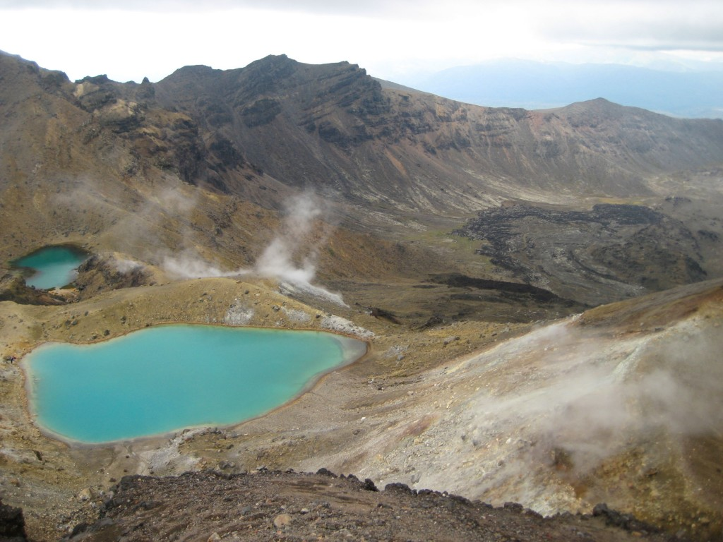 nieuwzeeland tongariro crossing