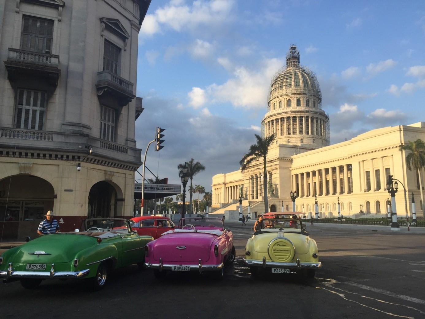 In de reizigerslounge: Ben over Cuba