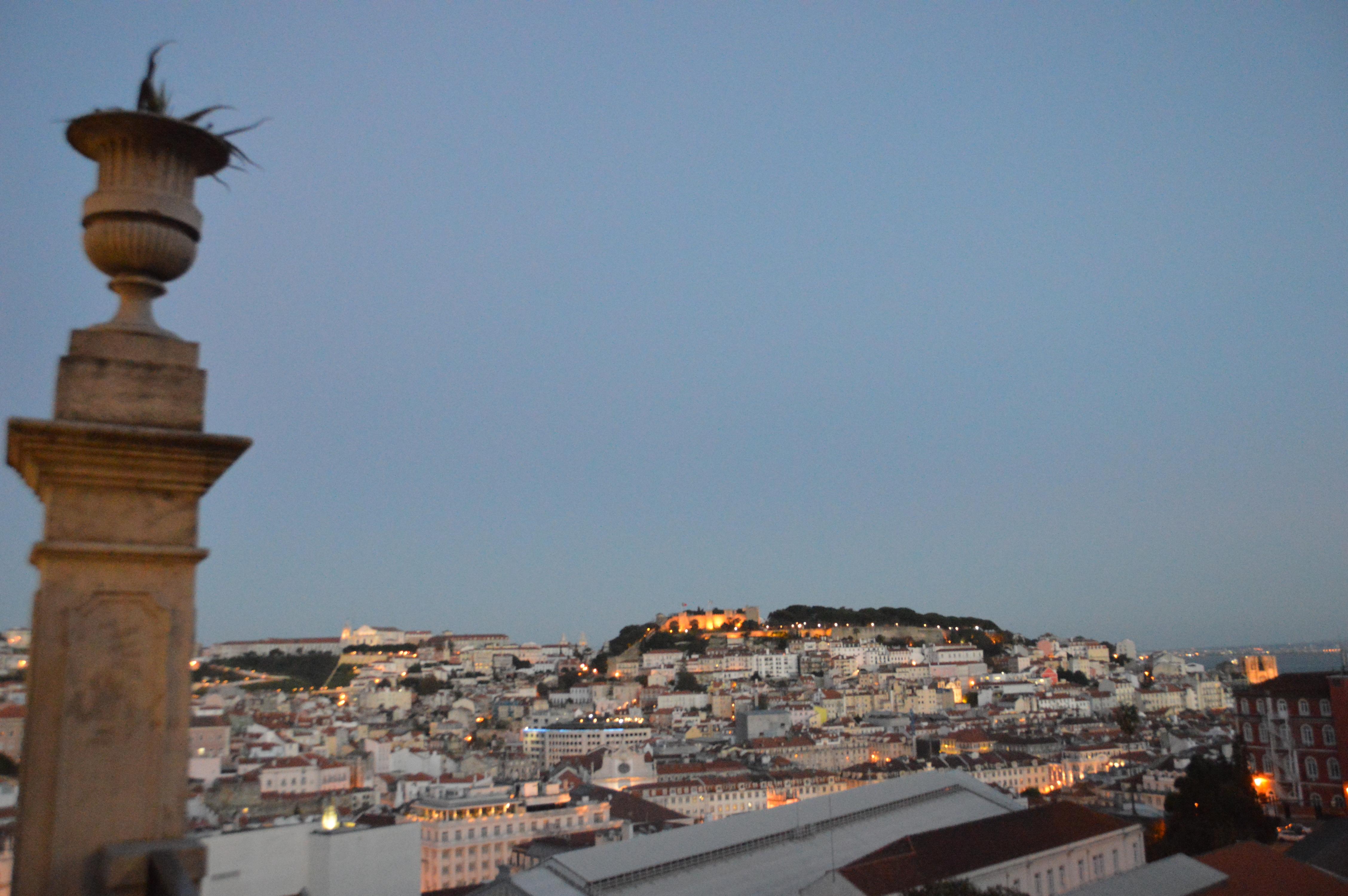 Fado muziek en meer in Bairro Alto, Lissabon