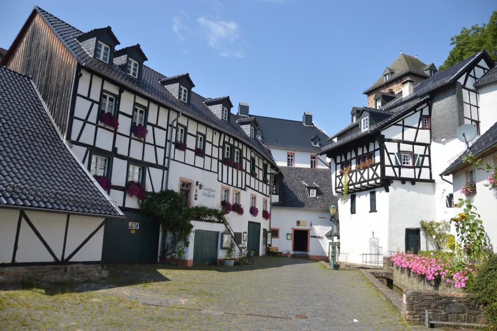 Blankenheim is een super schattig middeleeuws stadje in de Eiffel.