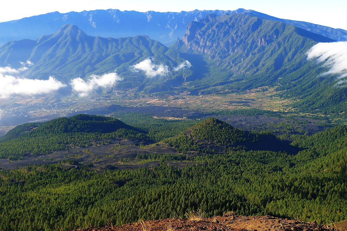 Groener dan groen, vulkanen en strand
