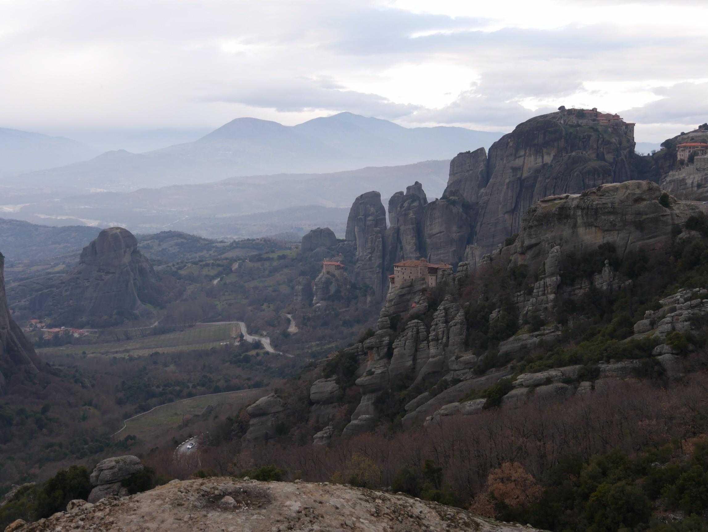 Het wereldwonder dat Meteora heet