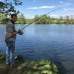 Relaxen en vissen aan Old Pollard Lake