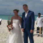 Niet eerder getoonde foto's van onze bruiloft op de Malediven