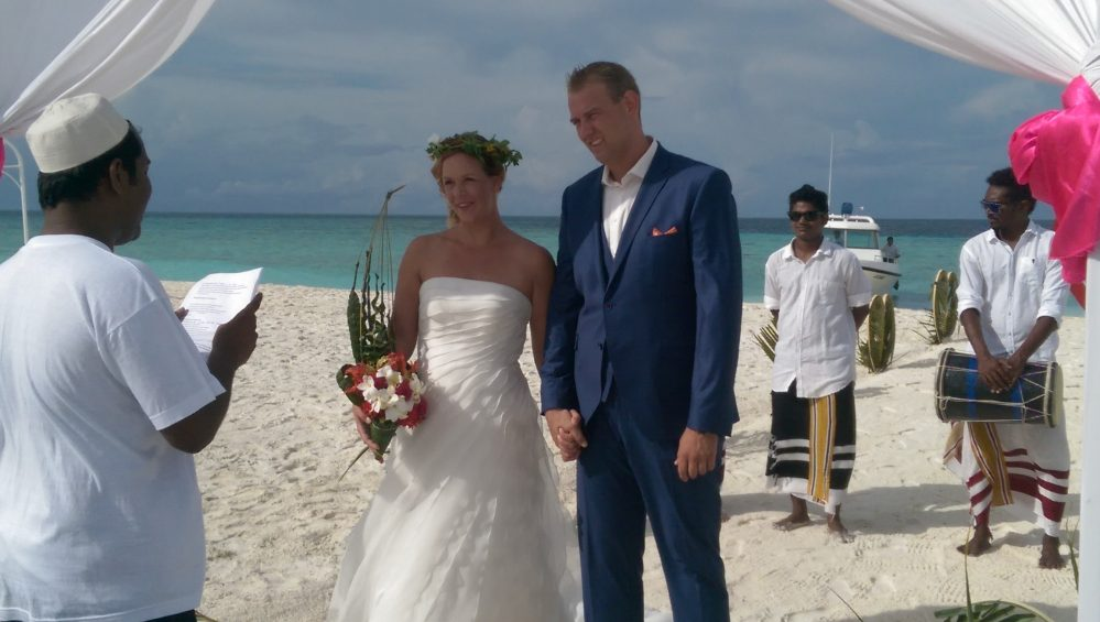 Bruiloft Malediven