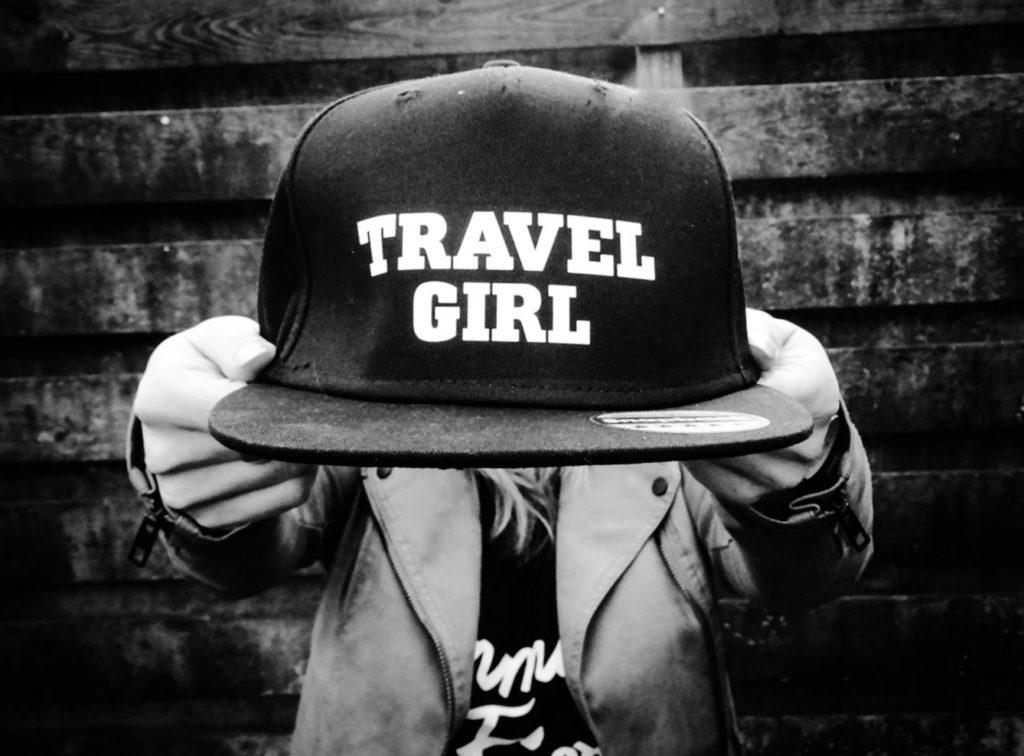 travel girl pet