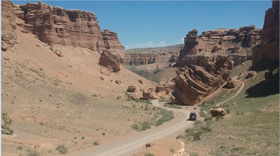 Charyn Canyon Kazachstan