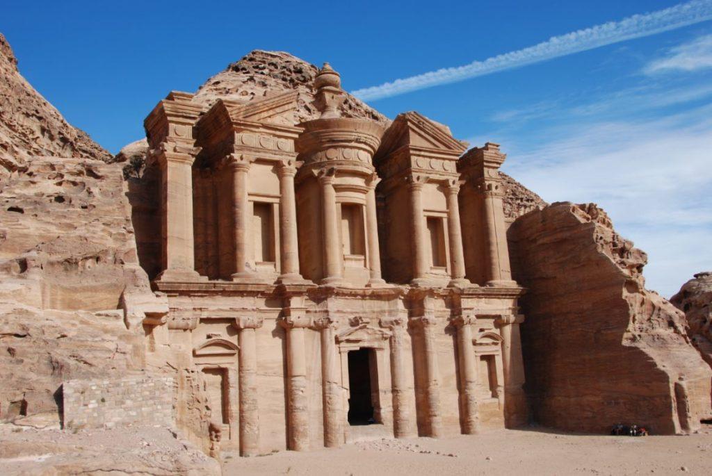 monastery petra jordanië