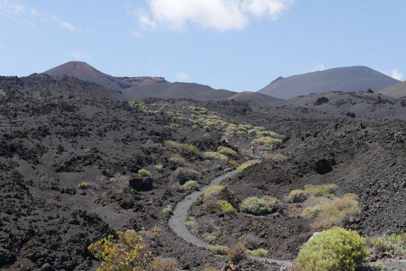 vulkaan pad