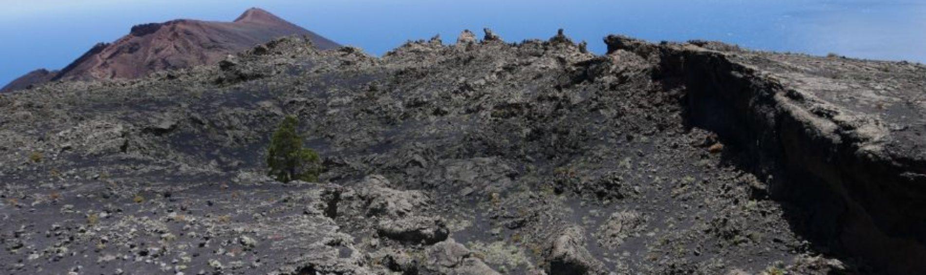 Wandelroute bij de vulkanen San Antonio en Teneguia