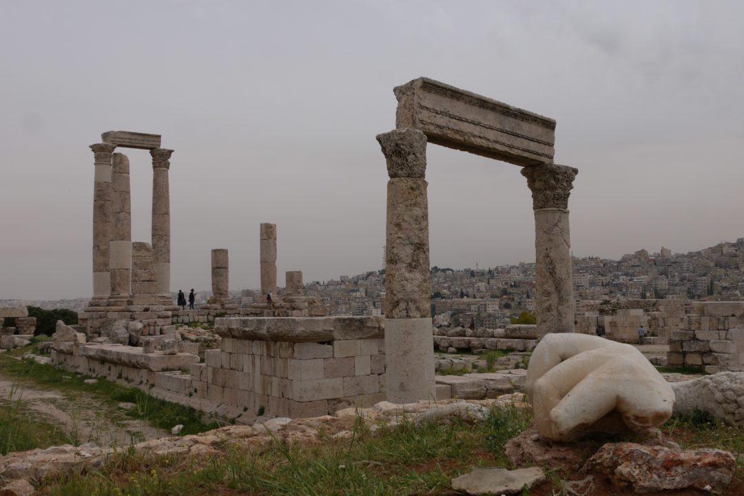 typisch beeld van Amman