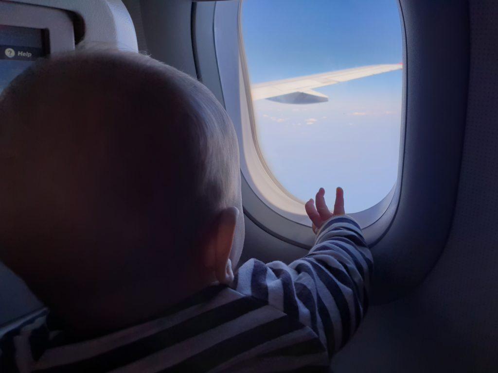 een vliegvakantie met een baby kan prima