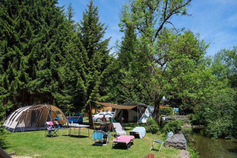 Kamperen in de natuur in Luxemburg: camping Woltzdal