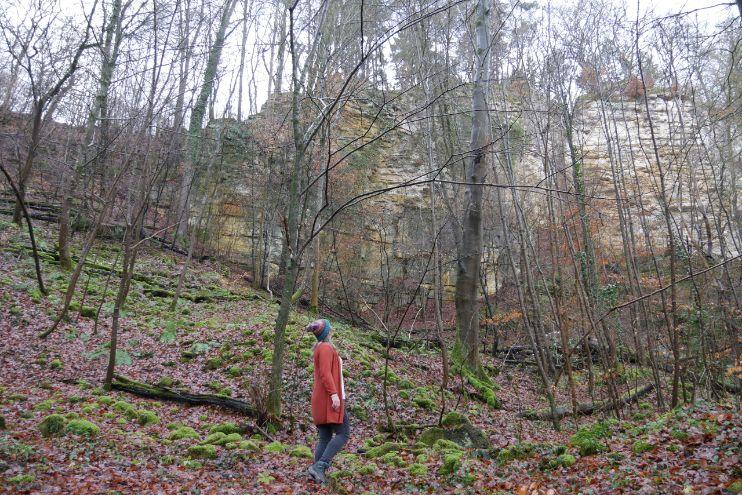 Een stukje Mullerthal trail vanuit Echternach