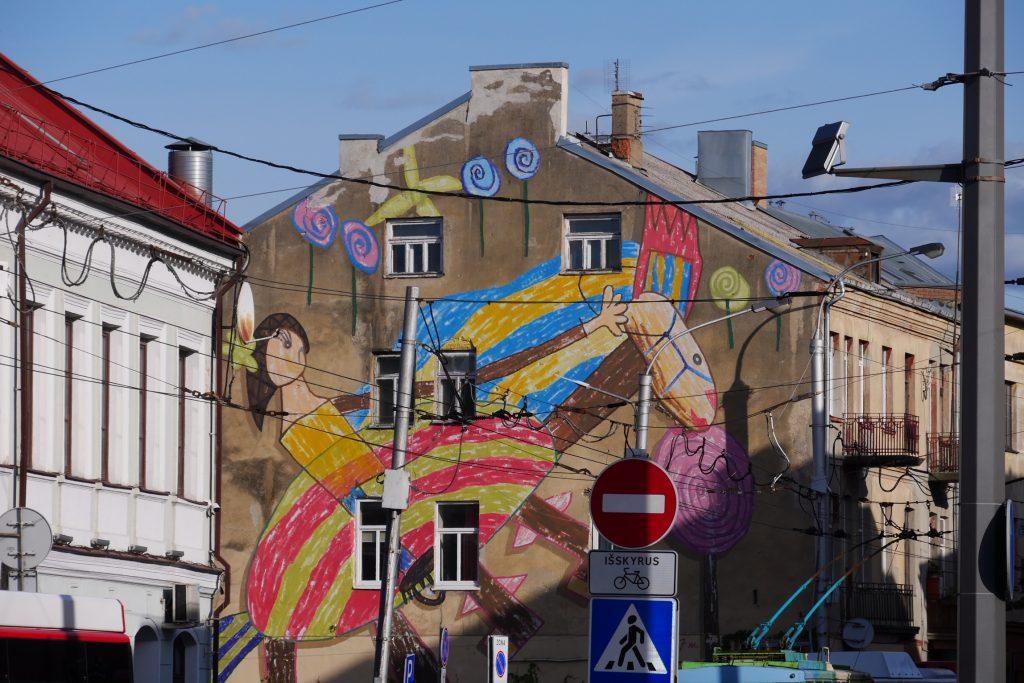 street art kaunas