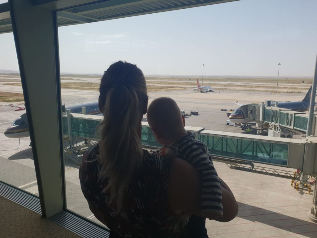 baby vliegtuig