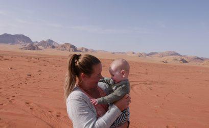 jordanië met kinderen