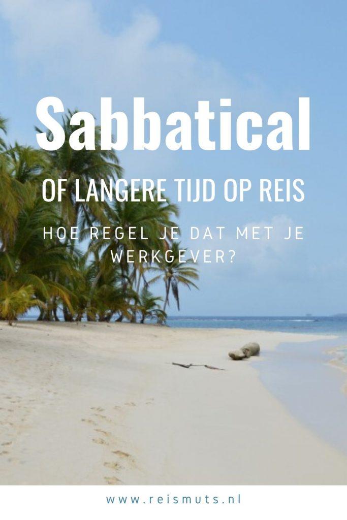 sabbatical verlofsoorten