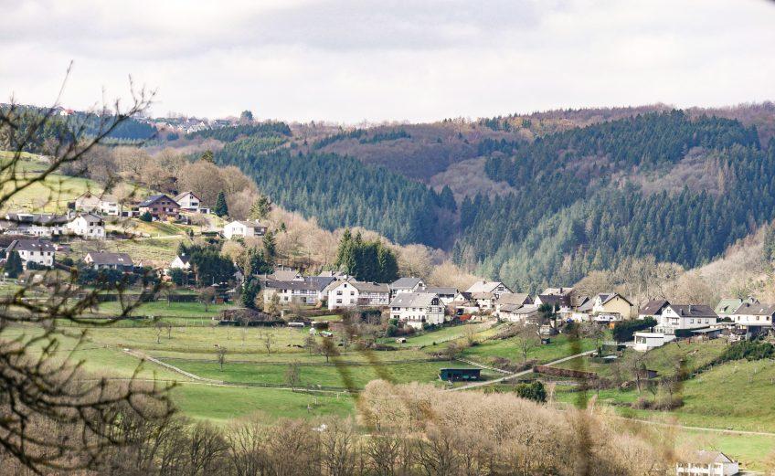 Op vakantie in de Eifel: overnachten in vakantiewoning Blick auf Dedenborn