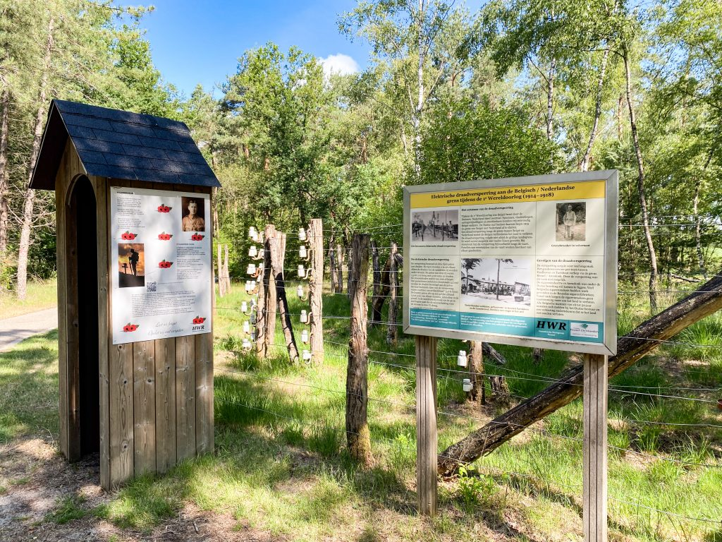 camping Bladel Achterste Hoef dodendraad