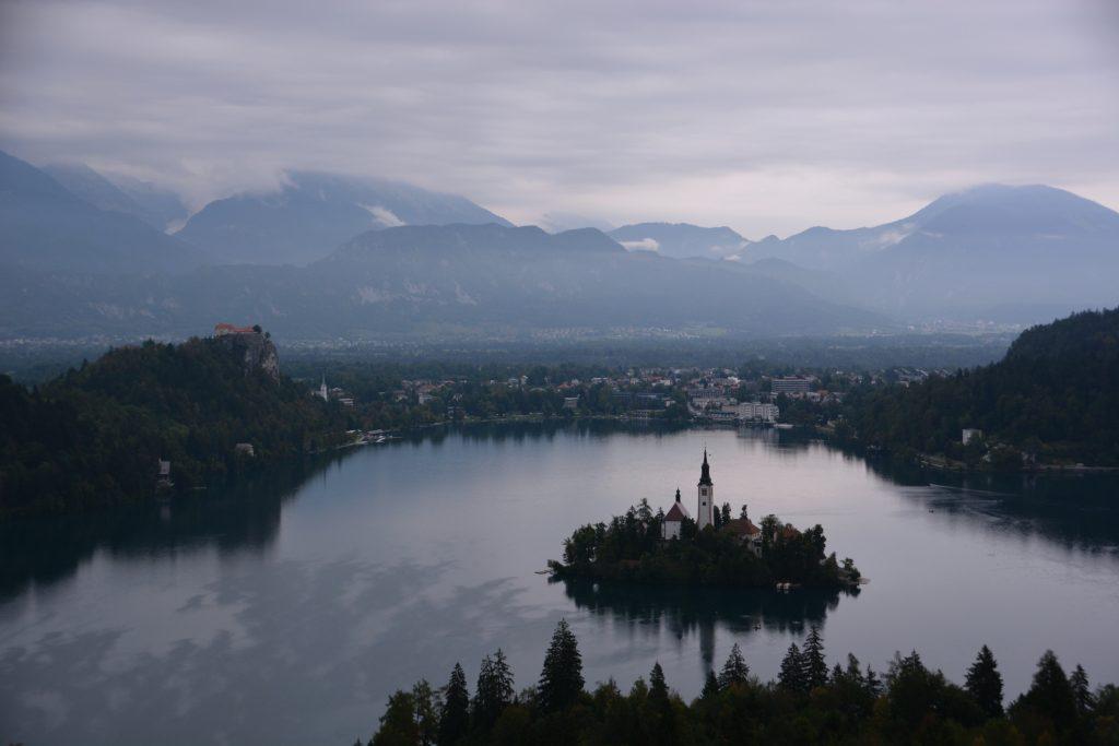 rondwandeling uitzichtpunt Lake Bled