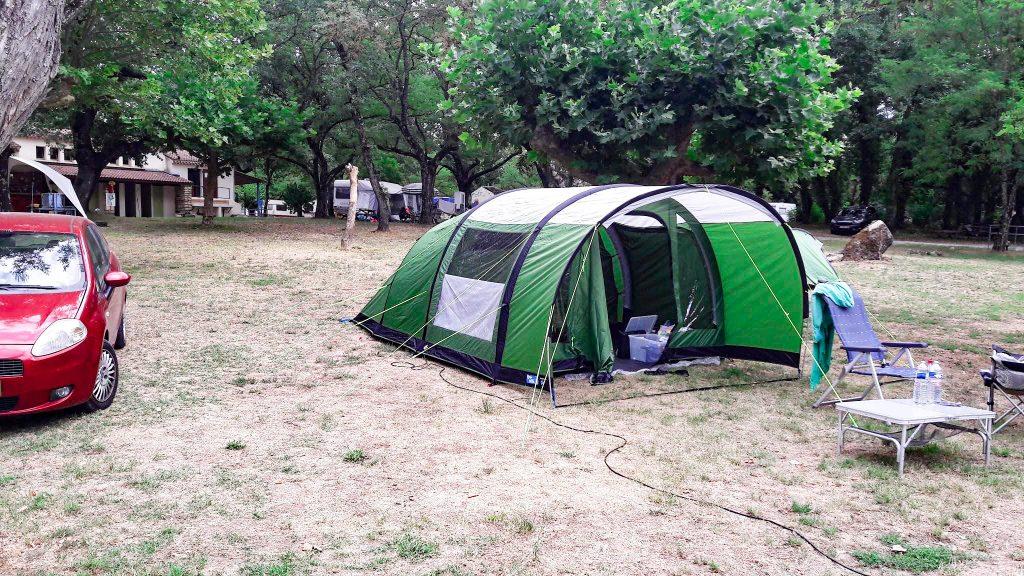 alleen kamperen