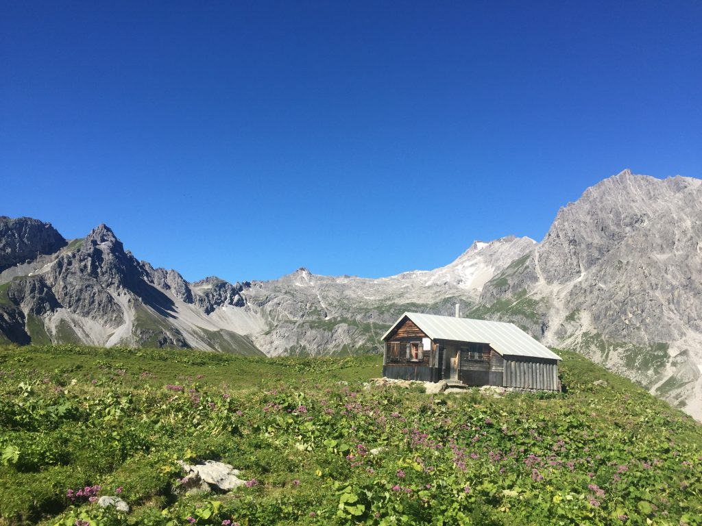 Oostenrijk berghut