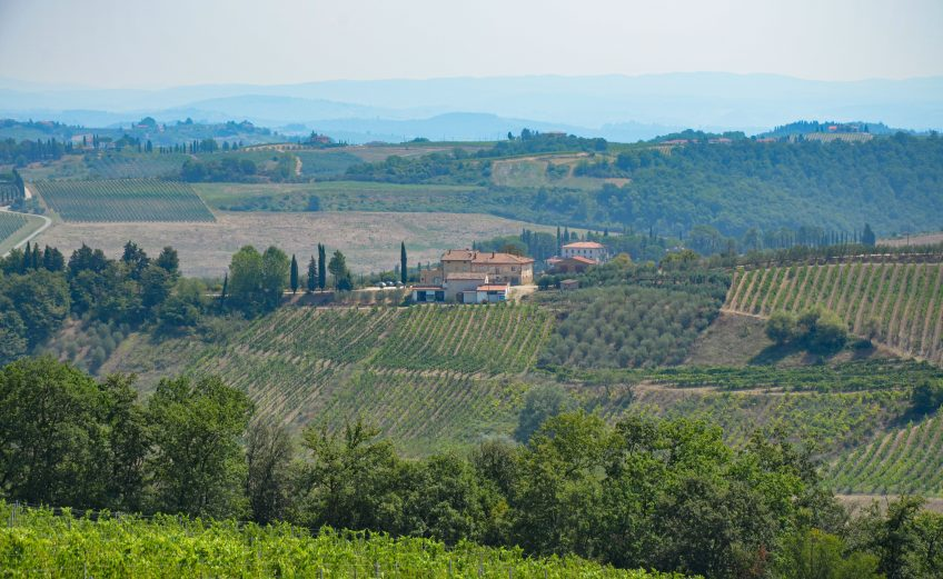 Verblijven op een agriturismo in Toscane