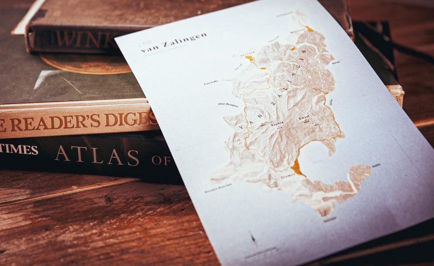 Voor aan de muur: je familie in een gepersonaliseerde landkaart